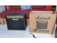 Marshall Guitar Amplifier