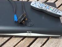 Sky+ HD box plus remote