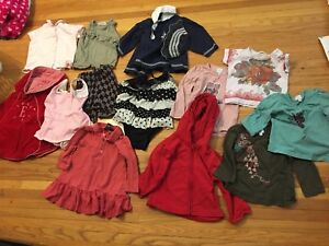 GIRLS SIZE 18-24 MONTH CLOTHES