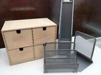 Desk Organiser Items