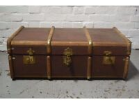 vintage travel trunk (DELIVERY AVAILABLE)