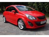 2014 Vauxhall Corsa 1.4 Red 49,000 Miles Stunning Example Low Insurance £4999