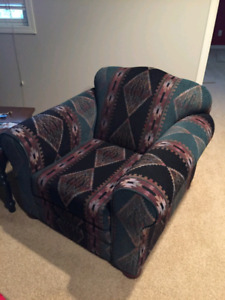 For sale: chair sofa and love seat and tables. Needs to go today