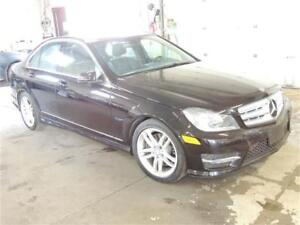 2013 Mercedes-Benz C 300 4MATIC, LEATHER, SUNROOF