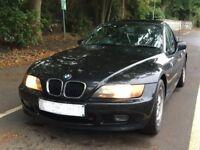 BMW Z3 1.9i Auto Roadster Black