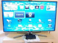 "Samsung Smart TV, 46"", Full HD, 3D with two active glasses, Series 7 (UE46ES7000)"