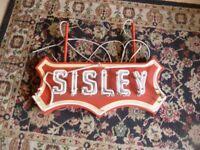 Sisley Neon Go Kart American Sign