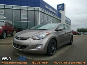 2013 Hyundai Elantra Limited   leather bluetooth heated front an
