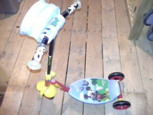 Mickey Mouse childrens Scooter