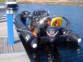 Mako 780 (225BHP Rib Boat)