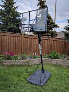 Basket Ball Complete Stand, Vinyl Board and Net