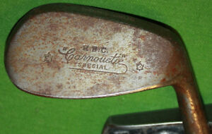 VINTAGE WOOD SHAFT H.B.C. CARMOUSTIE GOLF CLUB