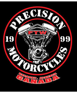 Precision Motorcycles & Twin Cities Saloon Ride Night