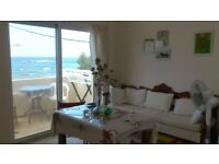 Beach studio apartments (2 of them) for rent in Crete