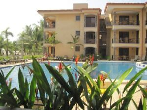 Direct oceanfront 2 bed/2 bath condo in Costa Rica