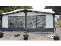 Caravan Awning - Full Dorema Daytona- Size 15 in Charcoal - 2016 Model