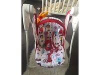 Graco swing chair, only used a few times, very good condition