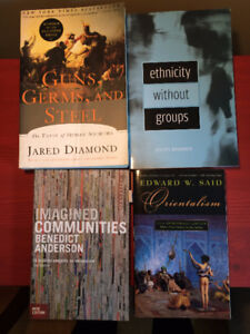 Books (Theory / Anthropology / Sociology classics)
