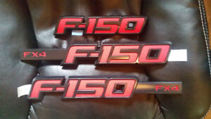 2009 / 14 FORD F150 - FX4 BADGES $90 O.B.O