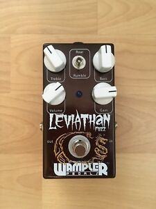 Wampler Leviathan Fuzz **cash or trade**