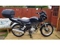 AJS 125 BLACK NO MOT OR TAX EXCELLENT CONDITION