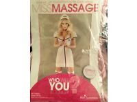 Ann Summers Miss Massage dress up size 20 BNWT