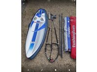 Complete windsurfing kit
