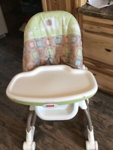 High chair by FisherPrice