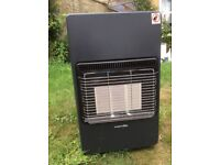 Gas heater with bottle