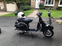Vespa px 150 only done 17miles