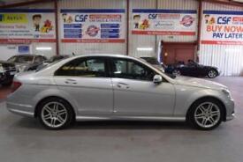 2009 09 MERCEDES-BENZ C CLASS 2.1 C200 CDI SPORT 4D AUTO 135 BHP DIESEL