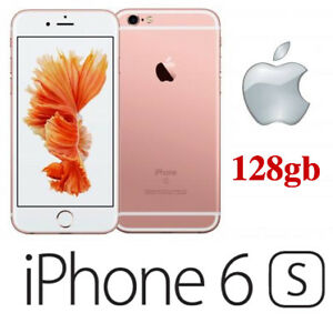 APPLE IPHONE 6S 128GB ROSE GOLD SMARTPHONE UNLOCKED