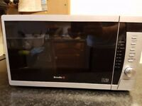 BREVILLE silver microwave