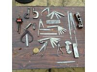 Rare vintage engineering tools from 1940s