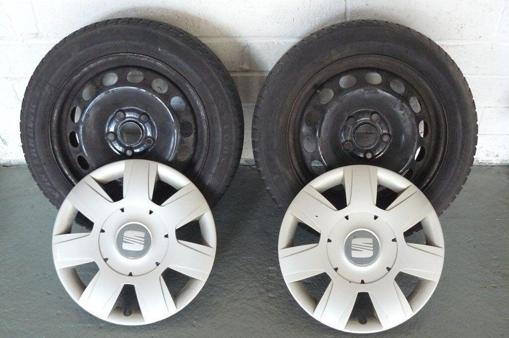 Super Seat Leon Firestone Winterhawk 2 Tyres Caps X 2 Pabps2019 Chair Design Images Pabps2019Com
