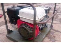 Honda Generator little used 2.2kva.