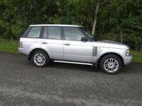 STUNNING RANGE ROVE VOGUE V8 SUPERCHARGER GRILL AND ALLOYS NO RUST!!