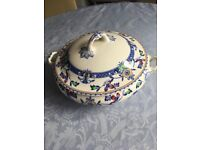 Whieldon ware china serving dish