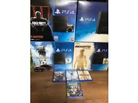 PS4 500GB Matt black version with warranty and receipt from £159