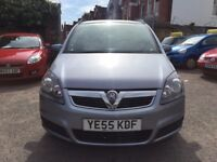 Vauxhall Zafira 1.8 i 16v Club 5dr£2,195 Recall up to date,one owner