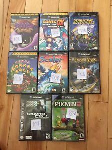 Cassettes Games Cube
