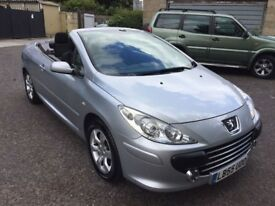 2006 Peugeot 307 Coupe Cabriolet- 2.0 S 2dr Warrnated Low Mileage HPI Clear @07445775115@