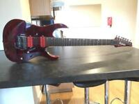 Ibanez RG827QMZ 7-String Guitar