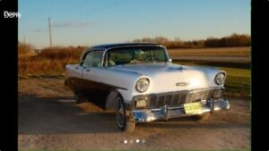 1956 Chevy Hardtop Saftied and ready to go!!
