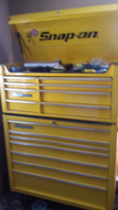 Snap On tool box possible trades