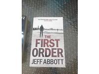 Jeff Abbott novel first order