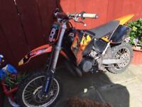 Kids KTM dirt bike