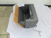 Integrated Cooker Hood, Cooke & Lewis CLIH60-C Stainless Steel Stainless Steel Effect, unused AS NEW