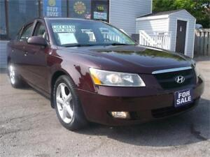 2006 HYUNDAI SONATA GL * GLASS ROOF * LOW KMS * LEATHER !!!