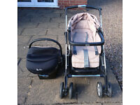 Silver Cross Pram and Car seat system, loads of extras